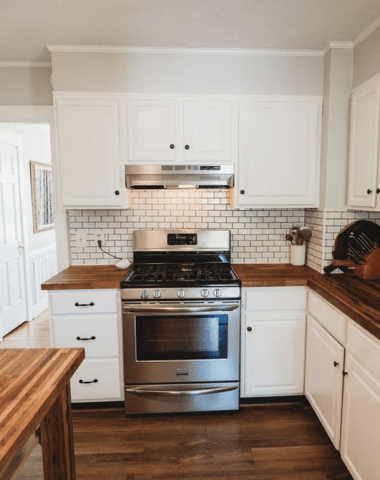 Our Budget Farmhouse Kitchen Remodel
