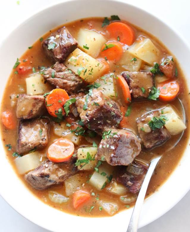 Dutch Oven Beef Stew from Cook At Home Mom