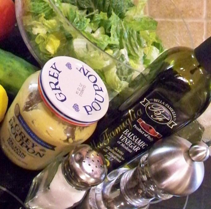 Four Easy Vinaigrette Salad Dressings