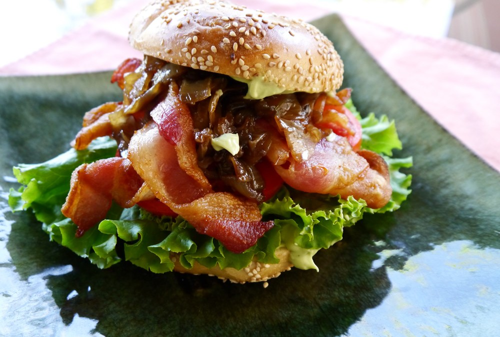 Bad Boy BLT Bagel Sandwich