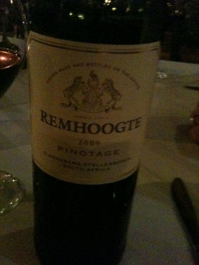 Remhoogte Pinotage 2009