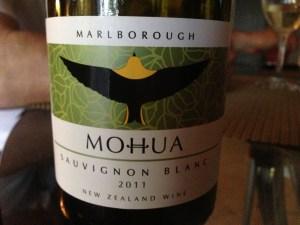 Mohua Sauvignon Blanc 2011