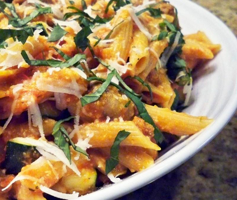 Fennel Sausage and Mushroom Pasta