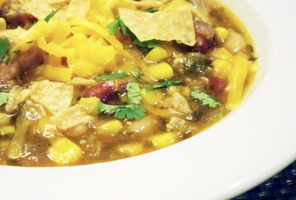 Texas Three Bean Chicken Soup