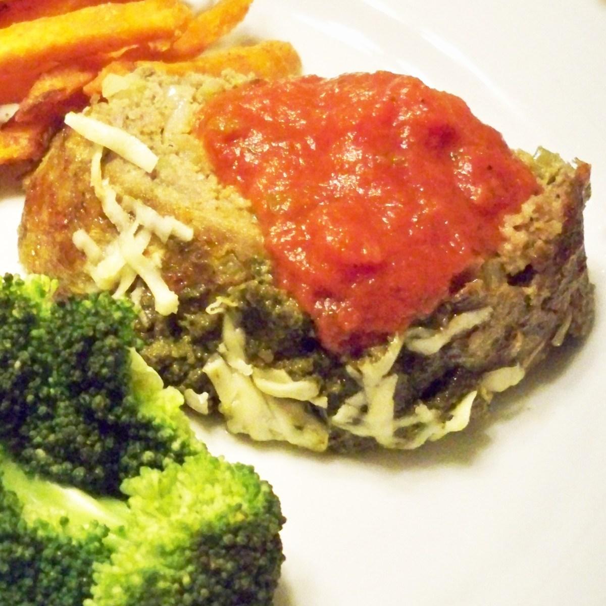 Italian Pesto Meatloaf
