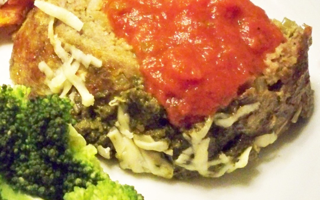 Italian Pesto Meatloaf