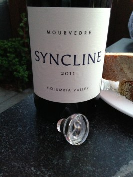 Mourvedre - Syncline 2011 from the Columbia Valley