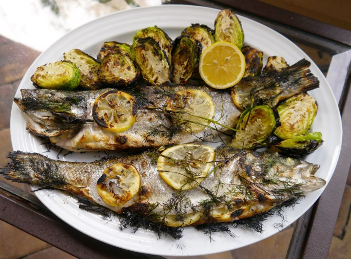 Whole Grilled Fish