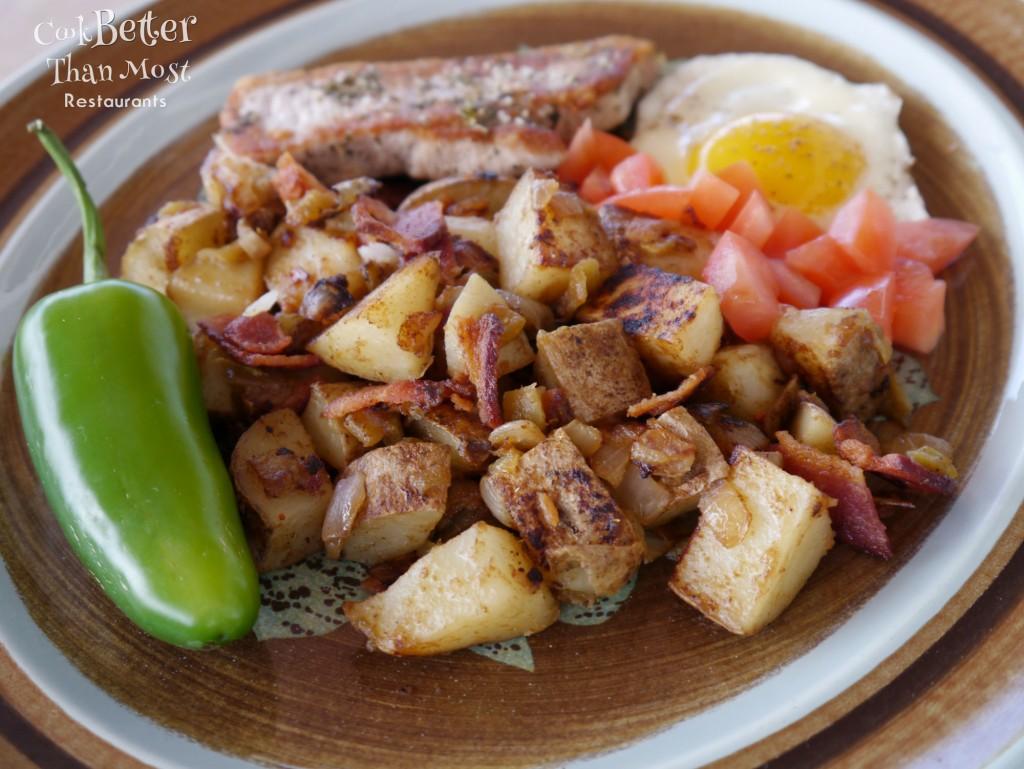 Simple Mexican Breakfast Potatoes