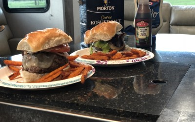 Herb and Balsamic Burgers