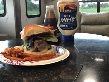 Herb and Balsamic Mayo Burgers