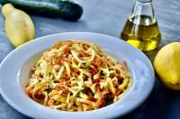 summer squash slaw lemon