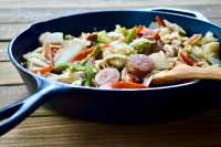 Dollywood's Big Sausage Skillet Recipe