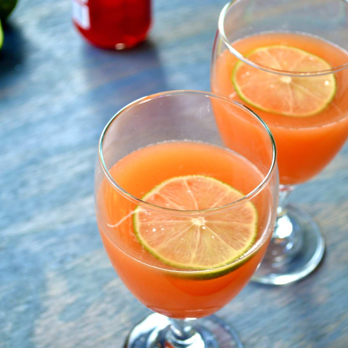 ultimate caribbean rum punch cocktail