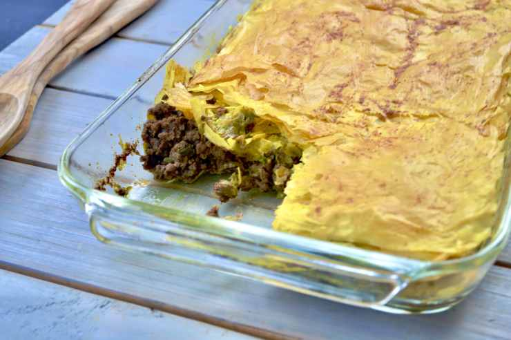easy jamaican beef patty bake