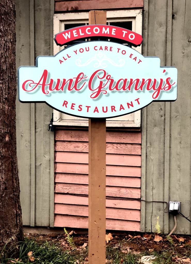 Aunt Granny's Restaurant Dollywood
