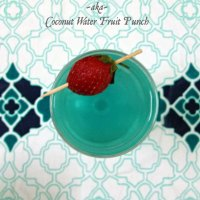 Serenity ~ Coconut Water Fruit Punch