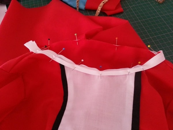 Sew a Queen of Hearts Dress (13)