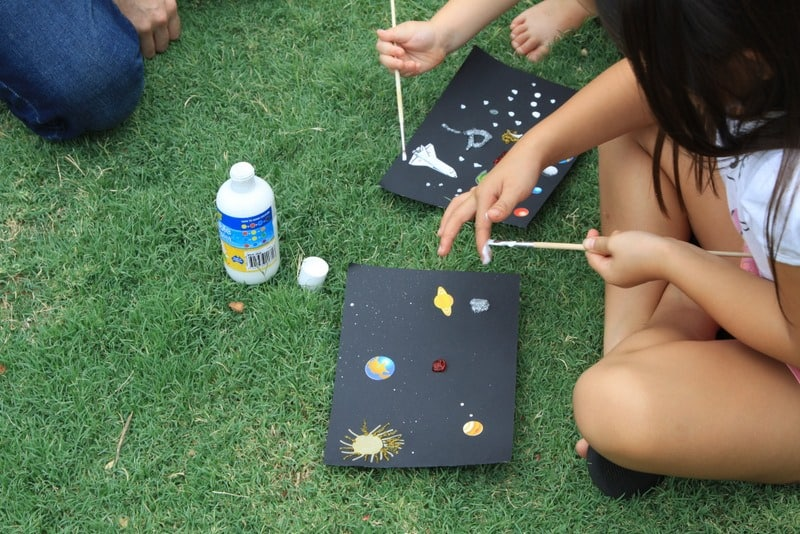 Space Themed Birthday Party Games Cook Clean Craft