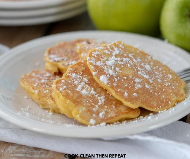 Have you ever had apple fritters? Great recipe