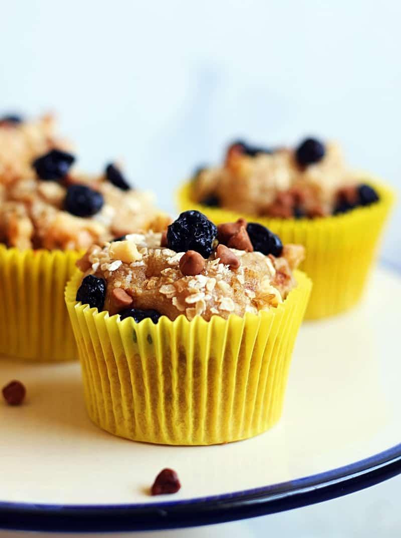 vegan banana muffin recipe with multigrain flour. Black Bedroom Furniture Sets. Home Design Ideas