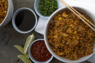 Food Photography :: Asian Fried Rice