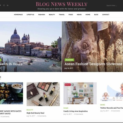 Cook.Eat.Explore is Featured on Blog News Weekly (Twice!)