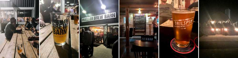 Moeller Brew Barn & Tailspin Brewing