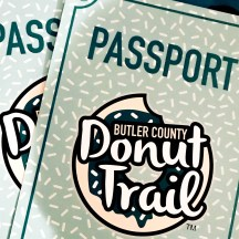 Butler County Donut Trail Passports.