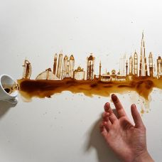 Giulia Bernardelli food art - City coffee