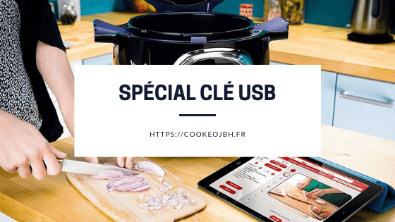 recette cle usb cookeo