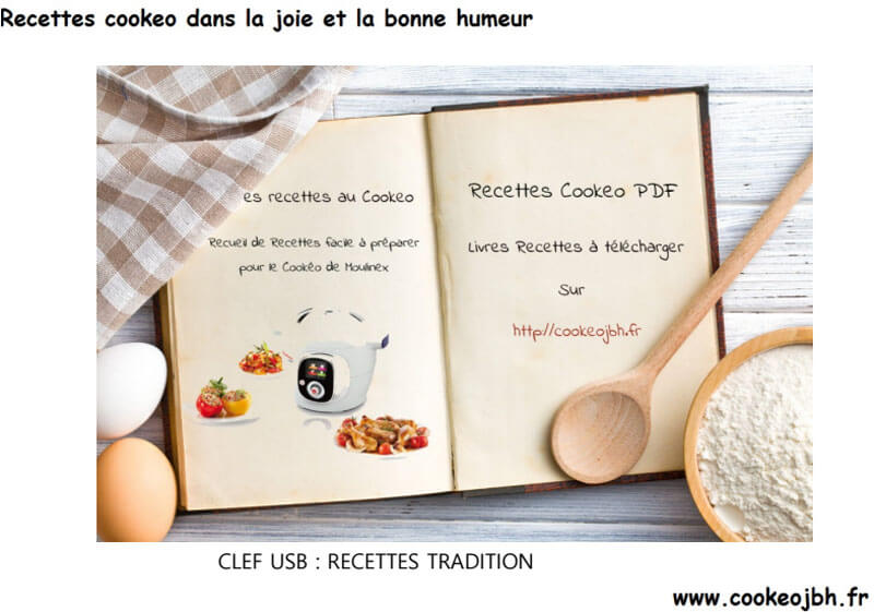 Recettes Tradition Cookeo