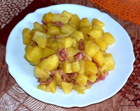 Pommes De Terre Sautees Aux Lardons Recettes Cookeo