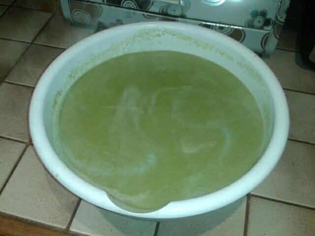 Recette de soupe sans poireaux