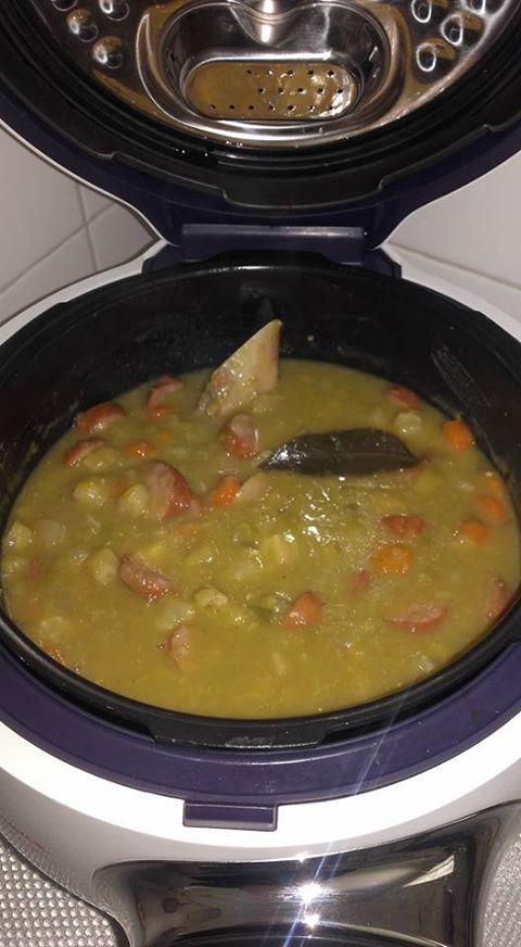 Jarret De Porc Au Cookeo : jarret, cookeo, Soupe, Cassées, Recette, Cookeo