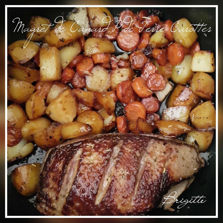 Magret de canard terre et carottes recettes cookeo - Comment cuisiner magret de canard ...