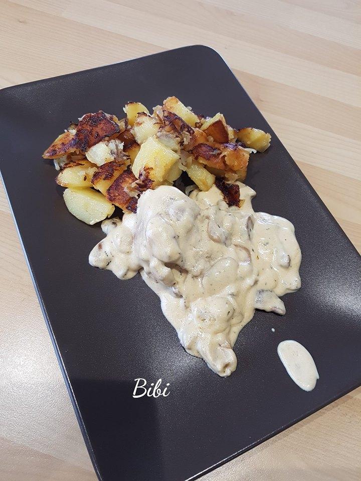 Filet Mignon Cookeo Fond De Veau : filet, mignon, cookeo, Filet, Mignon, Sauce, Crémeuse, Recette, Cookeo