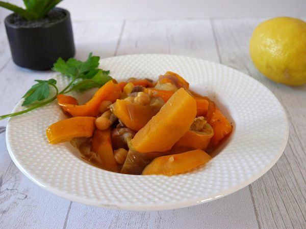 tajine de legumes au cookeo