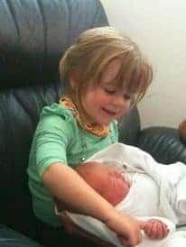 the Little Sister arrives