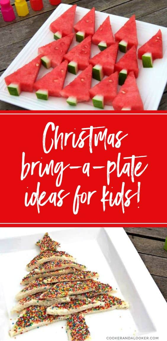 Three simple bring a plate christmas ideas for kids for Desserts to take to a christmas party