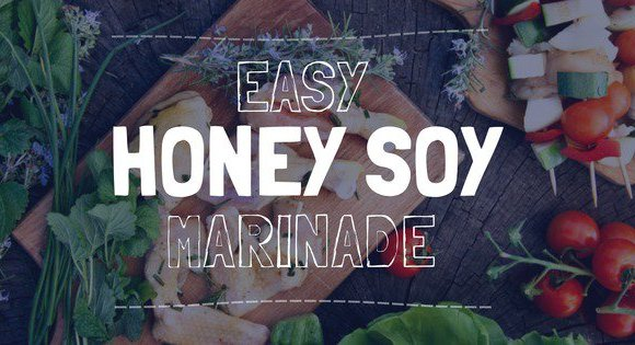 easy honey soy marinade