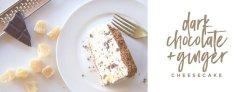 dark chocolate and ginger cheesecake (2)