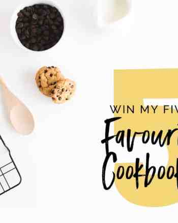 win my five favourite cookbooks preorder cooker and a looker