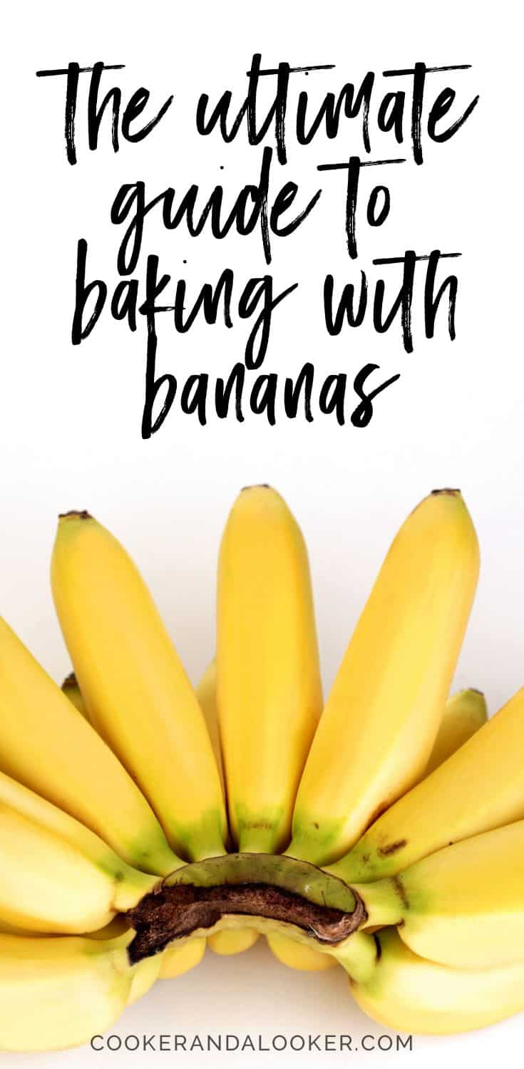 I'm on a mission to banish brown bananas from fruit bowls across the country, so I've compiled the ultimate guide to baking with bananas. Banana bread, banana cake, banana muffins, banana scones - you name it, I've found the recipe!