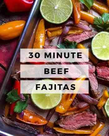 BEEF FAJITAS, FAJITA TRAY BAKE, TRAY BAKE DINNER