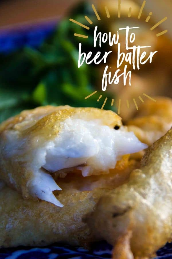 how to beer batter fish