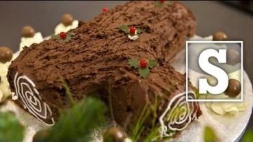 Christmas Yule Log Recipe – Cooking videos.