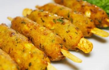 Crispy Corn Kebabs