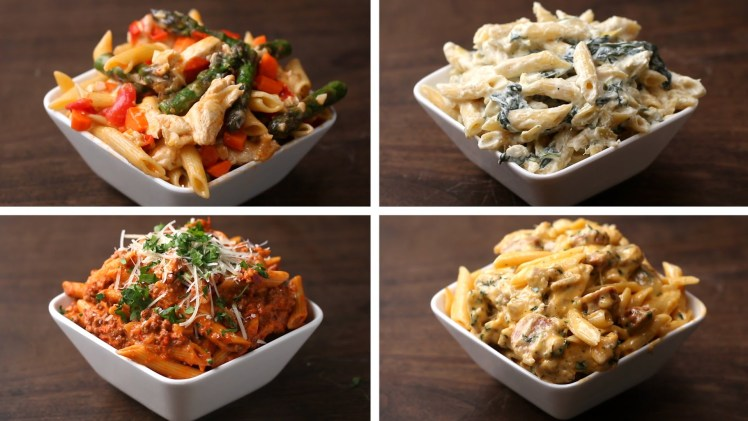 Penne 4 Ways – Cooking Video