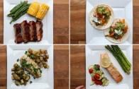 4 Simple One – Pan Dinners